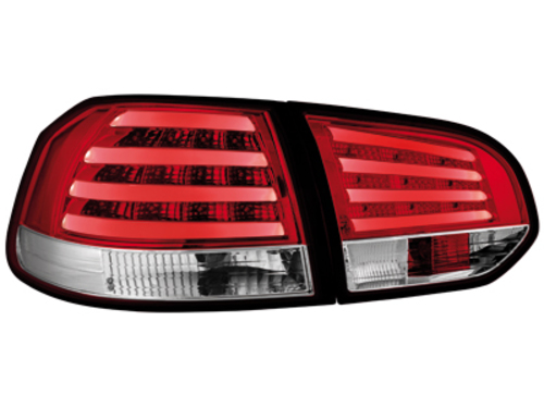 LED taillights VW Golf VI _ red/crystal