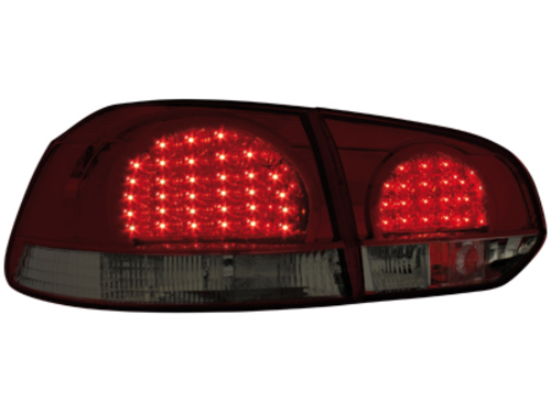 LED taillights VW Golf VI _ red/smoke