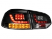 LED taillights VW Golf VI _with LED indicator_black