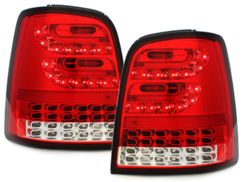 LITEC LED taillights VW Touran 2003+_red/crystal