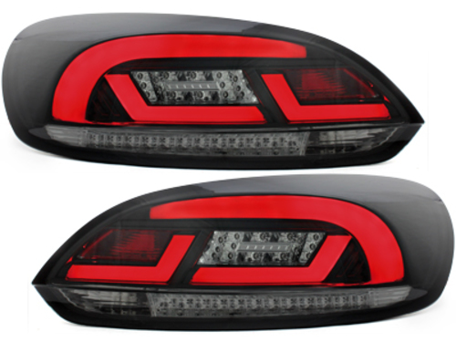 LITEC LED taillights VW SCIROCCO MK3  III 2008-2013  black/smoke