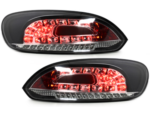 LED taillights VW VW SCIROCCO III 08-10 black