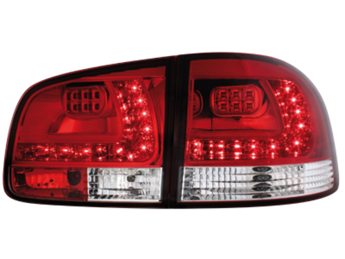 LED taillights VW Touareg 02-10_red/clear