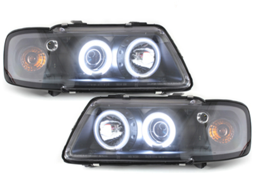 LED taillights Renault Clio II 98-01 _ crystal
