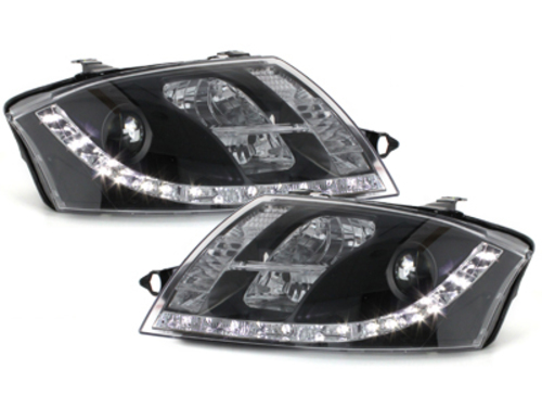 D-LITE headlights AUDI TT 8N_daytime running light_black