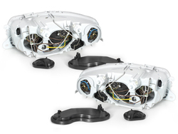 Headlights ALFA ROMEO 147 01-04 black