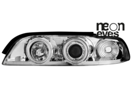 headlights BMW E39 5er 95-00_2 CCFL halo rims_chrome