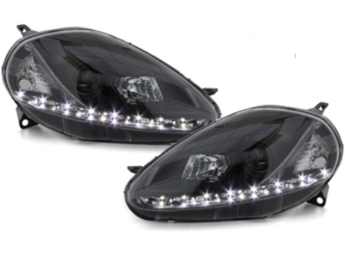 DAYLINE headlights Fiat Grande Punto 08-09 _drl-optic