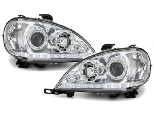 headlights Mercedes Benz M-Klasse W163 02,04 _ regulation of