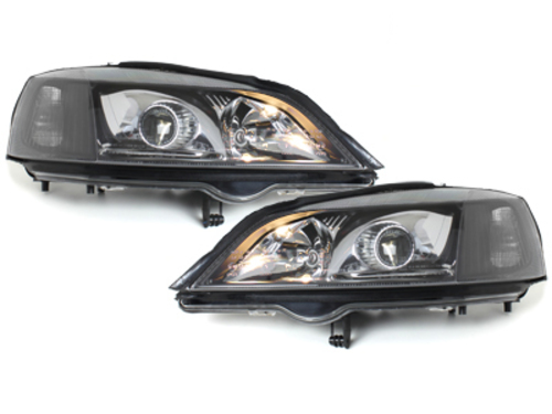 Headlights suitable for OPEL Astra G (1998-2004) Black