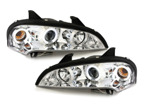 headlights Opel Tigra 94-00_2 CCFL halo rims_chrome