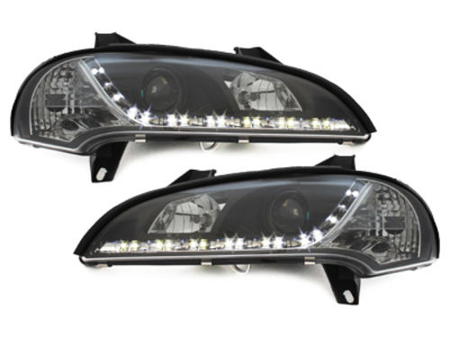 DAYLINE headlights Opel Tigra 94-00 _drl-optic _ black