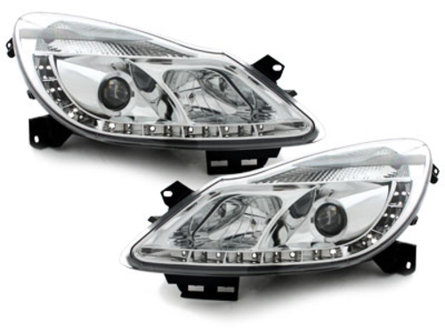 LED taillights Opel Astra G Caravan 98-04 _ crystal