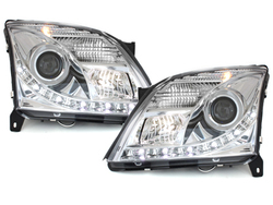 DAYLINE headlights Opel Vectra C 02-08/05_drl optic_chrome