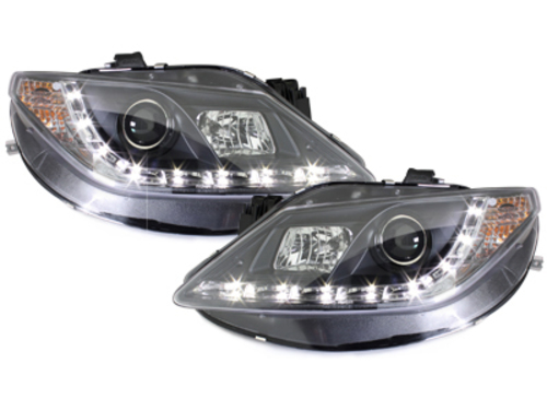 D-LITE headlights Seat Ibiza 6J 08+ daytime running light_bl