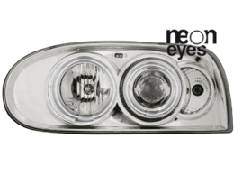 headlights VW Golf III 92-98_2 CCFL halo rims_chrome