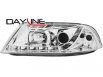 DAYLINE headlights VW Passat 3BG 00-04_drl optic_chrome