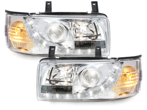 DAYLINE headlights VW T4 90-03 _ drl-optic