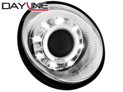 DAYLINE headlights VW Lupo 99-05_chrome