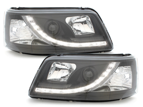 DAYLINE headlights VW T5 03-09_drl optic_black