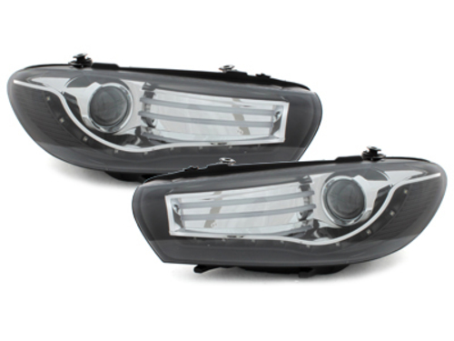 DECTANE DRL look headlight VW Scirocco lll_08+_black